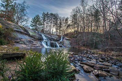 Photograph - Mcgalliard Falls Wide View by Randy Scherkenbach
