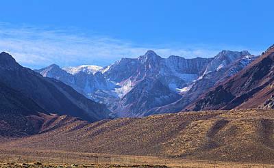 Crowley Lake Photograph - Mcgee Mountain Sierra Nevada by Viktor Savchenko
