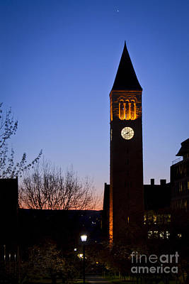 Photograph - Mcgraw Tower Cornell University by Brad Marzolf Photography