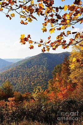 Mcguire Mountain Overlook Art Print by Thomas R Fletcher