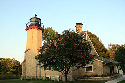 Photograph - Mcgulpin Point Lighthouse by George Jones