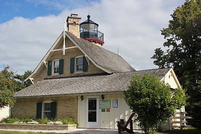 Photograph - Mcgulpin Point Lighthouse by Mary Bedy