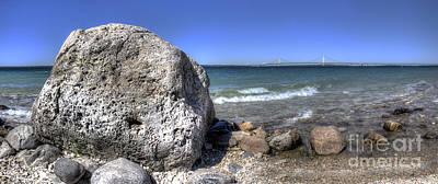 Mackinac Photograph - Mcgulpin Rock by Twenty Two North Photography