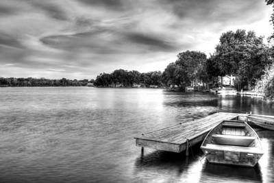 Photograph - Mchenry Dam Boat Dock  by Roger Passman