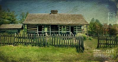 Photograph - Mckenzie Cabin by Lena Auxier