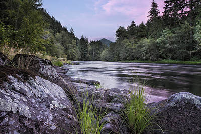 Photograph - Mckenzie River Just After Sunset by Belinda Greb