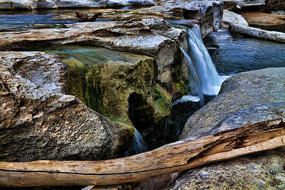 Catch Of The Day - McKinney Falls State Park-Lower Falls 2 by Judy Vincent