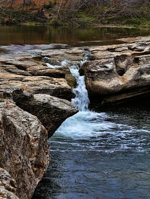 Photograph - Mckinney Falls State Park-upper Falls 2 by Judy Vincent