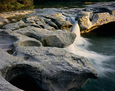 Photograph - Mckinney Falls by Tom Daniel
