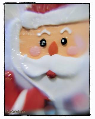 Santa Unwrapped Art Print