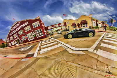 Photograph - Lamborghini Cannery Row Monterey by Blake Richards