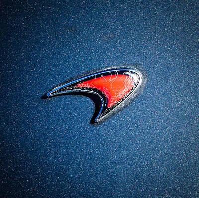 Photograph - Mclaren Emblem -0247c by Jill Reger