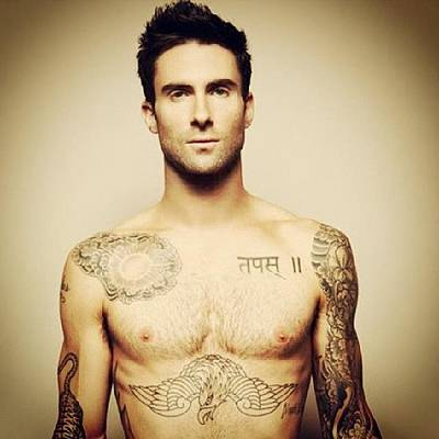 Sexy Photograph - #mcm #mancrushmonday #adamlevine #sexy by Theresa Collins