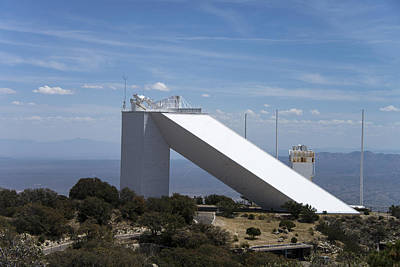 Photograph - Mcmath Solar Telescope, Kitt Peak by Mark Newman