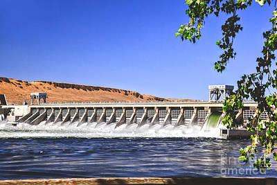 Mcnary  Hydroelectric Dam Art Print by Robert Bales