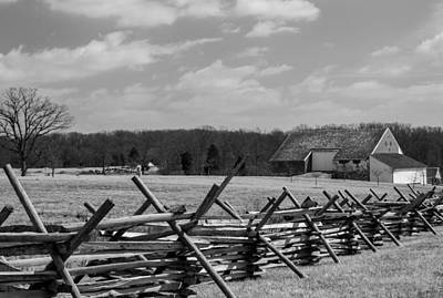Photograph - Mcpherson's Barn At Gettysburg by Kathi Isserman