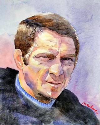 Steve Mcqueen Art Painting - Mcqueen by Max Good