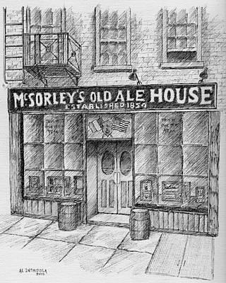 Mcsorleys Ale House Art Print