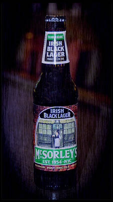 Irish Photograph - Mcsorleys Ny Irish Black Lager by LeeAnn McLaneGoetz McLaneGoetzStudioLLCcom