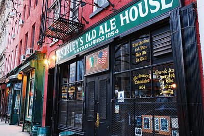 Mcsorleys Photograph - Mcsorley's Old Ale House by James Kirkikis