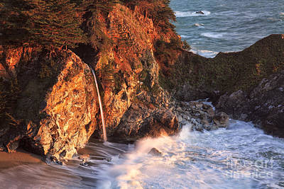 Photograph - Mcway Falls At Sunset by Stuart Gordon