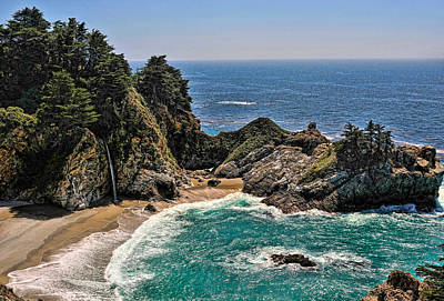 Photograph - Mcway Falls Beach by Lara Ellis