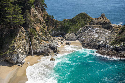 Photograph - Mcway Falls Big Sur by Priya Ghose