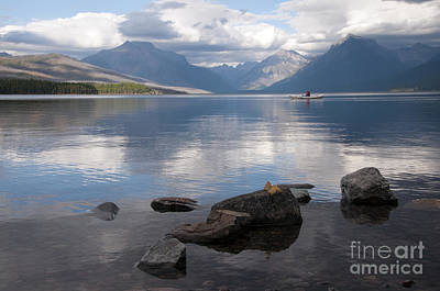 Photograph - Mcdonald Lake by Gary Beeler