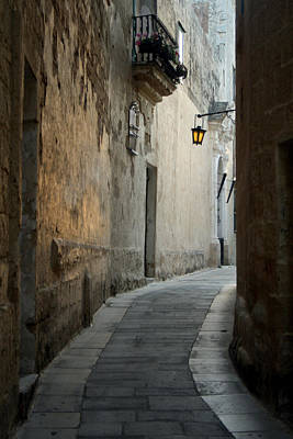 Alley Photograph - Mdina-malta by Cambion Art