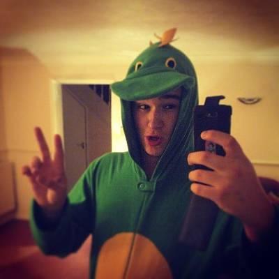I Phone Photograph - Me As A Dinosaur! #me #dinosaur #pjs by Maxx Parker