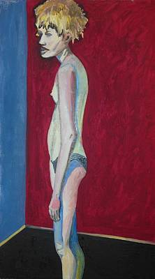 Painting - Me Don't Want Skinny Woman by Esther Newman-Cohen