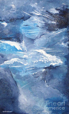 Figurative Painting - Me In The Clouds by Roni Ruth Palmer