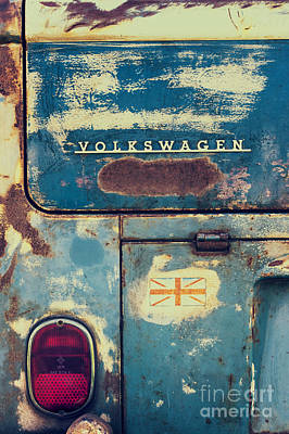 Rusted Cars Photograph - Me Old Dub by Tim Gainey