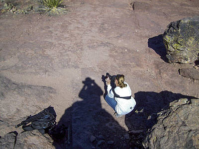 Photograph - Me Shooting In Big Bend National Park by Amber Kresge