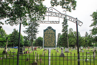 Photograph - Meade Cemetery by Grace Grogan