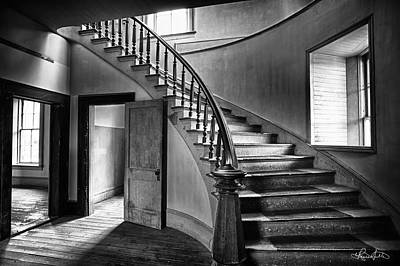 Photograph - Meade Staircase by Renee Sullivan
