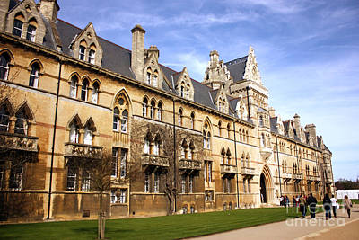 Photograph - Meadow Building Christ Church College Oxford by Terri Waters
