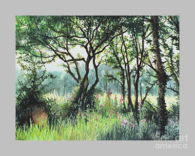 Meadow Art Print by Caroline Beaumont