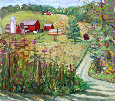 Meadow Farm Art Print