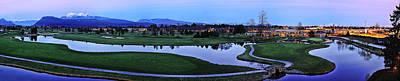 Wesley Allen Photograph - Meadow Gardens Golf Club by Wesley Allen Shaw