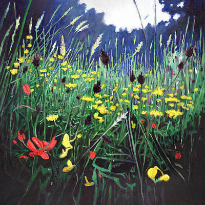 Painting - Meadow Glory by Helen White