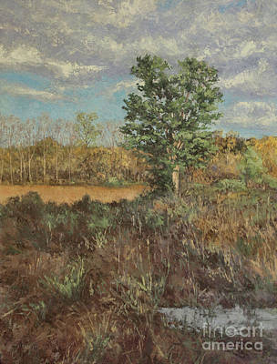 Painting - Meadow In The Hollow - May by Gregory Arnett