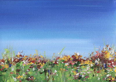 Painting - Meadow by Natasha Denger