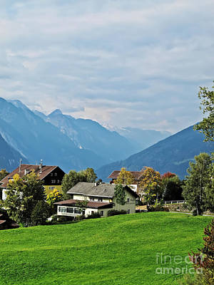 Photograph - Meadow Of The Alps by Elvis Vaughn