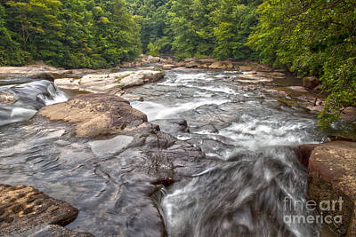 Photograph - Meadow Run Cascades by Jeannette Hunt