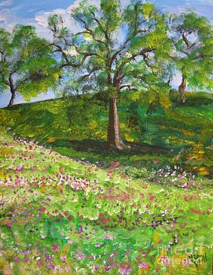 Painting - Meadowland    Painting by Judy Via-Wolff
