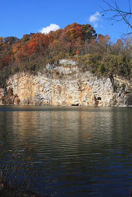 Photograph - Meads Quarry by Melinda Fawver