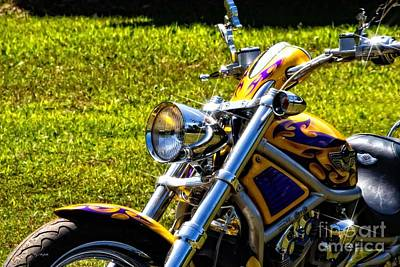 Photograph - Mean Harley Davidson by Ms Judi