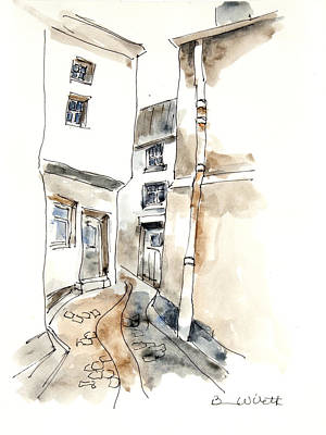 Meandering Avenue Art Print