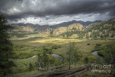 Photograph - Meandering Co River by David Waldrop